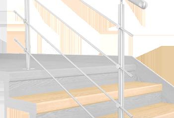 FLEX Javor 1200 x schodový nášlap, vruty a vyrovnávací lišta
