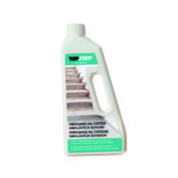 Přípravek na čištění vinylových schodů