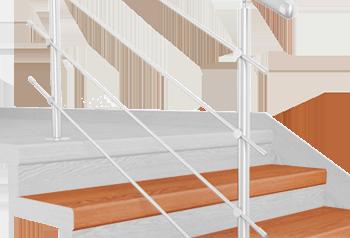 FLEX Olše schodový nášlap, vruty a vyrovnávací lišta