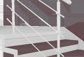 FLEX Lucinda schodový nášlap, vruty a vyrovnávací lišta