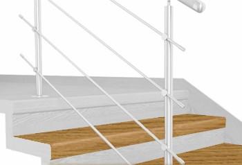 FLEX Dub natur schodový nášlap, vruty a vyrovnávací lišta